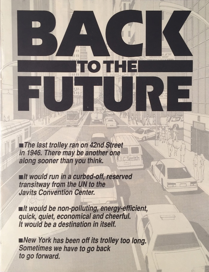 Back to the Future. 42ND STREET FUND.
