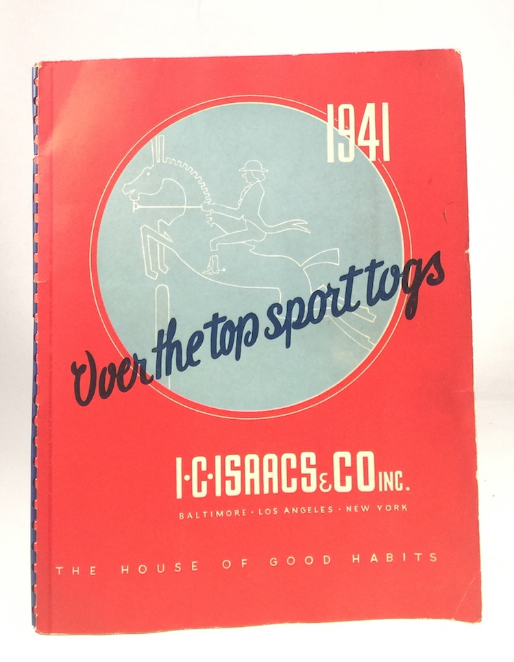Over the Top Sport Togs. I. C. ISAACS, CO. INC.