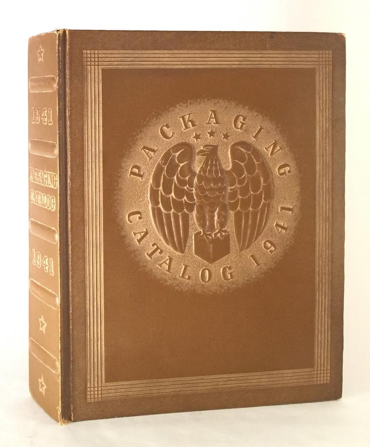 Packaging Catalog 1941: Material, Equipment and Procedures Used in Package Design, Production and Merchandising / Buyer's Directory of the Packaging Industries / Alphabetical Index of Manufacturers and Addresses / Trade Name Directory. BRESKIN PUBLISHING CORP.