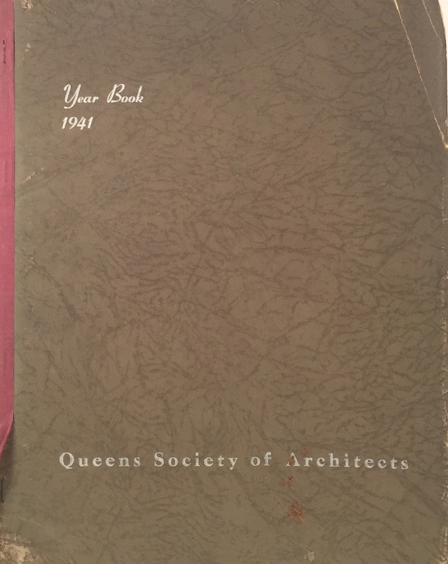 Year Book 1941: Zoning Law and Maps of the Borough of Queens. QUEENS SOCIETY OF ARCHITECTS.