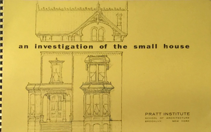 An Investigation of the Small House. C. J. SPAULDING.