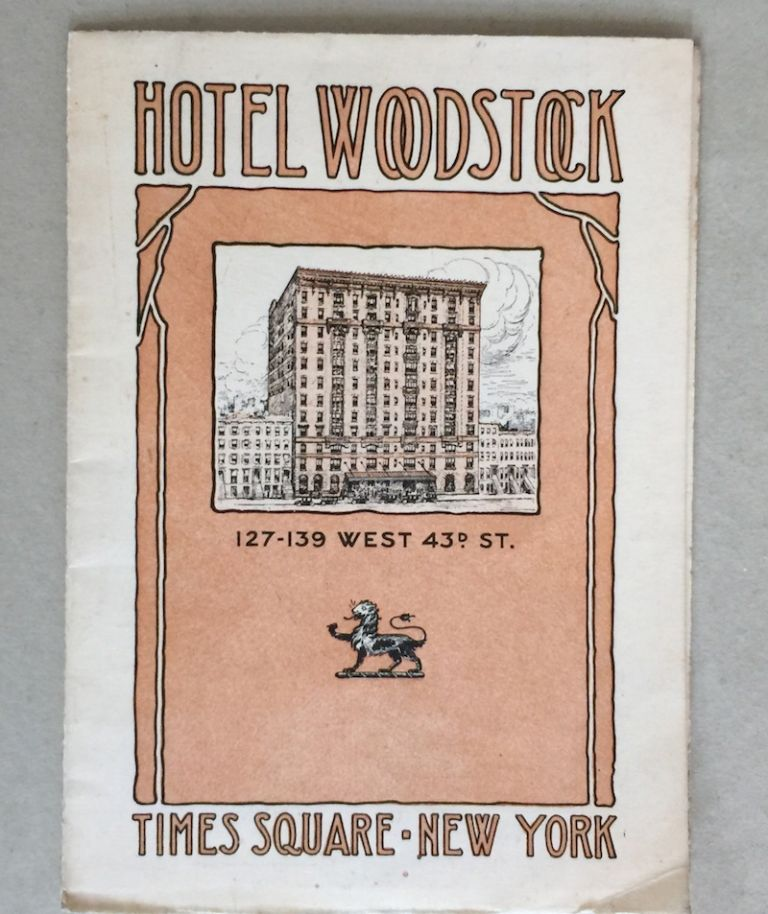 Hotel Woodstock 127-139 West 43rd St. ANONYMOUS.