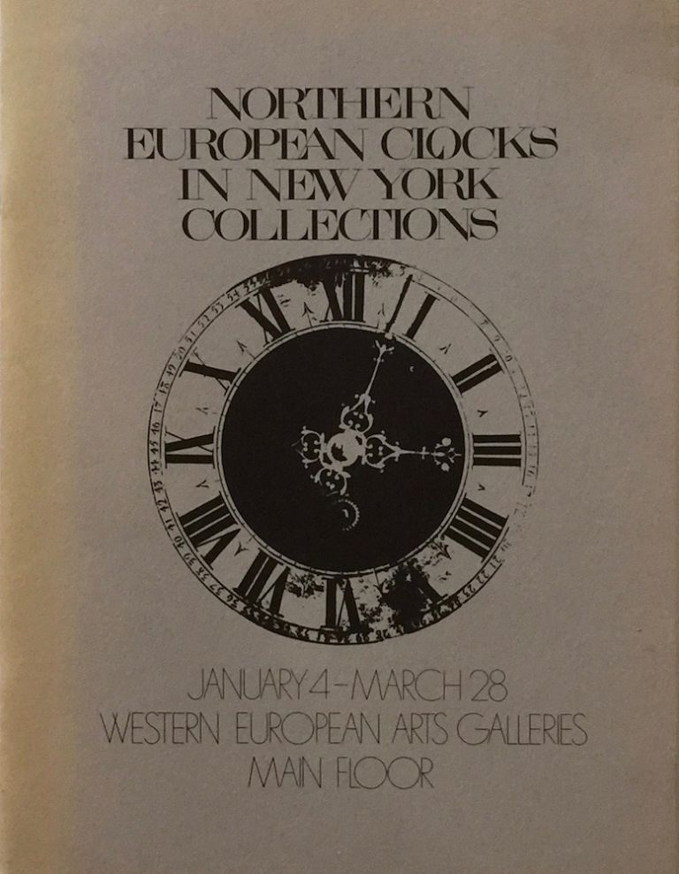 Northern European Clocks in New York Collections. CLARE VINCENT.