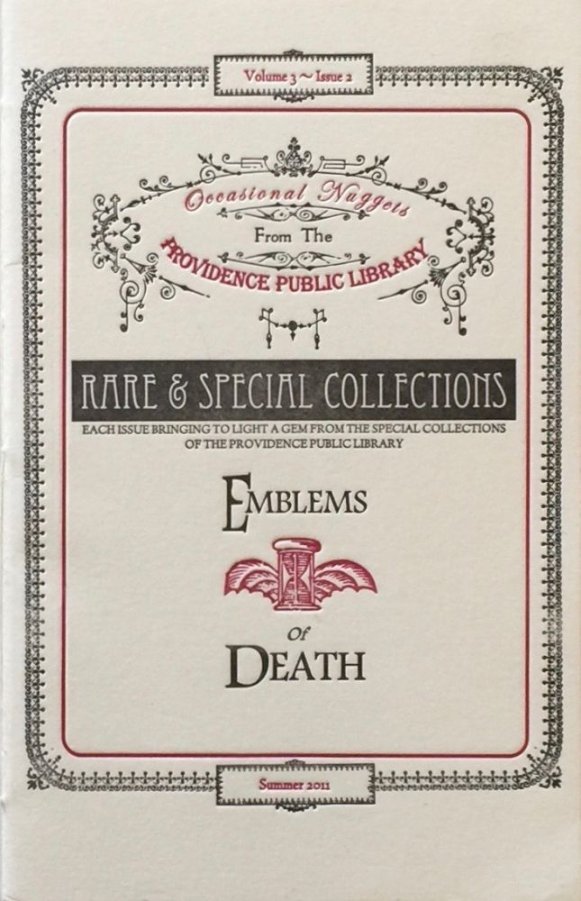 Emblems of Death: Funeral Invitations from the Barrois Ephemera in the Updike Collection on the History of Printing. Providence: Public Library.