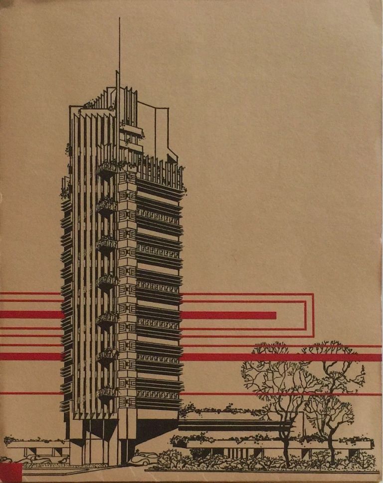 The Price Tower. FRANK LLOYD WRIGHT.