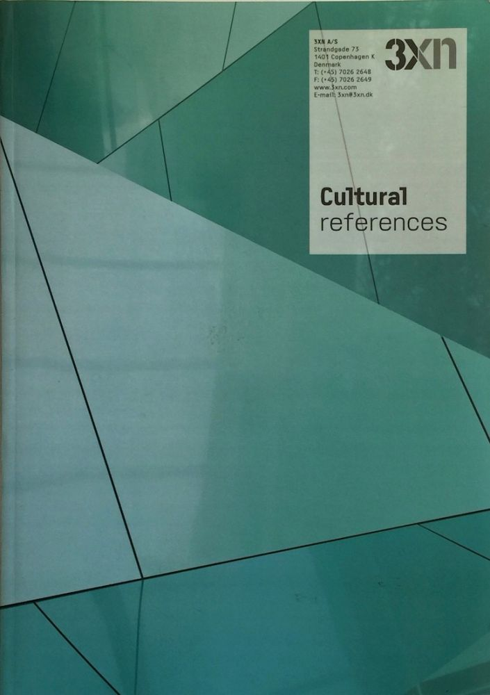 Cultural References. 3XN.