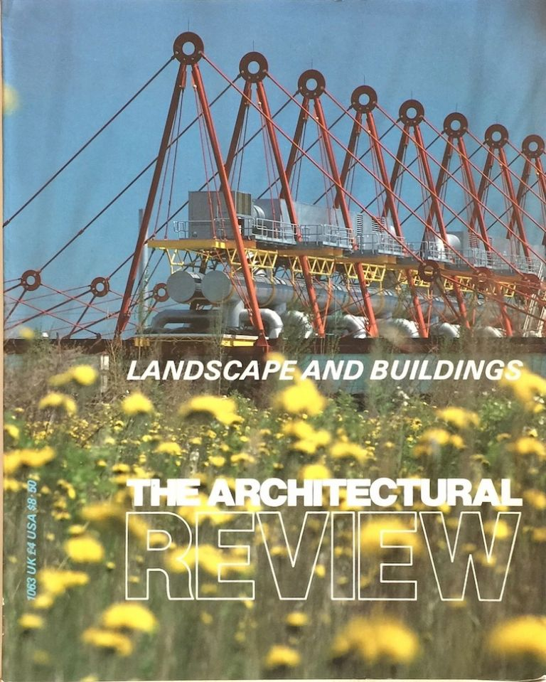 Architectural Review 1063 Sepetember 1985. PETER DAVEY, ed.