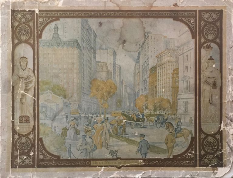 Both Sides of Broadway: From Bowling Green to Central Park New York City. DE LEEUW R. M.