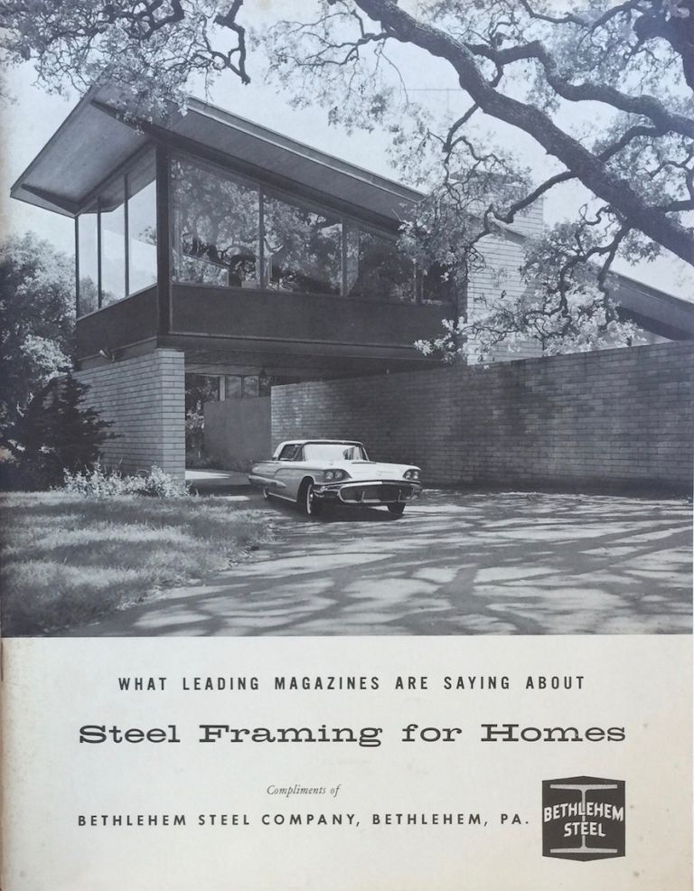 What Leading Magazines are Saying About Steel Framing for Homes. ANONYMOUS.