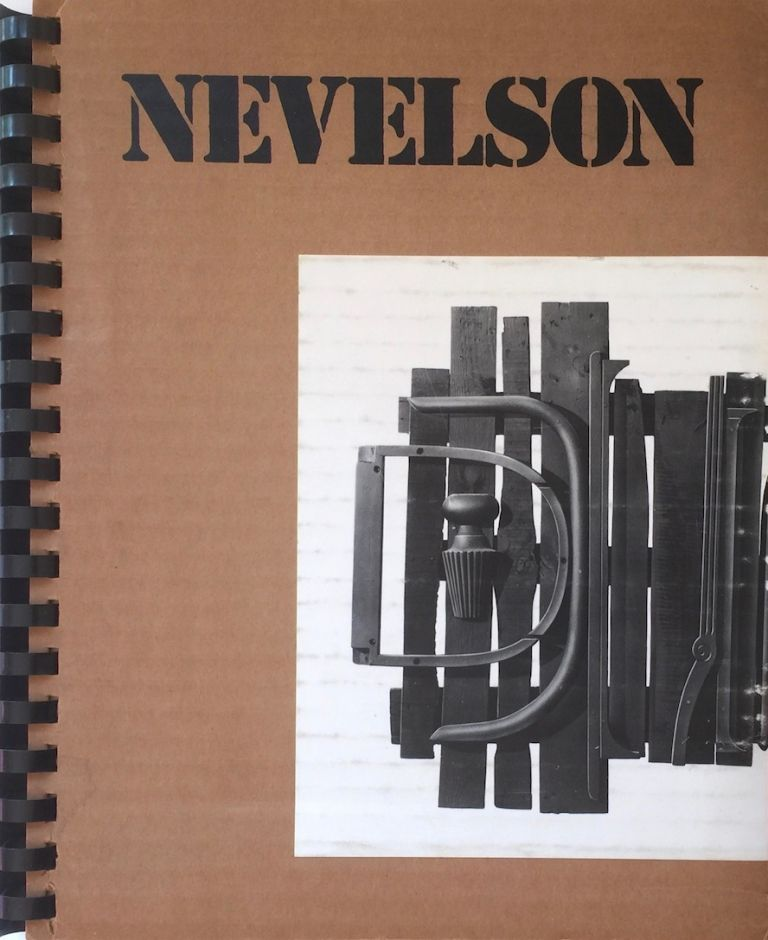 Sky Gates and Collages May 4 - 8 June 1974. LOUISE NEVELSON.