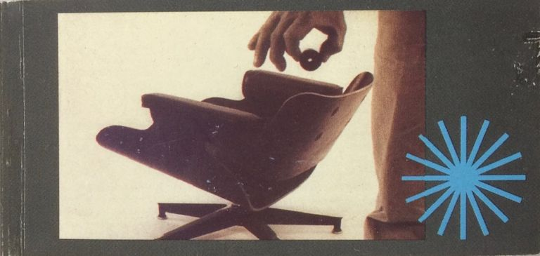 Eames Lounge Chair Flipbook. CHARLES EAMES, RAY.
