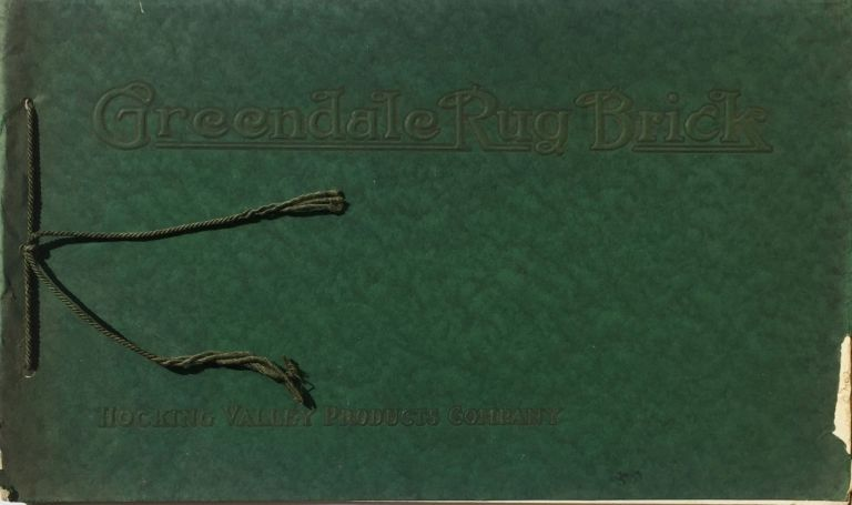 Greendale Rug Brick. HOCKING VALLEY PRODUCTS COMPANY.