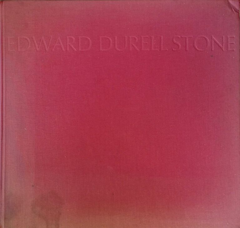 Recent and Future Architecture. EDWARD DURELL STONE.