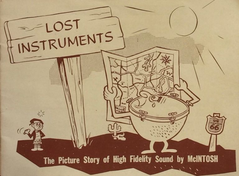 Lost Instruments: The Picture Story of High Fidelity Sound. FRANK H. MCINTOSH.