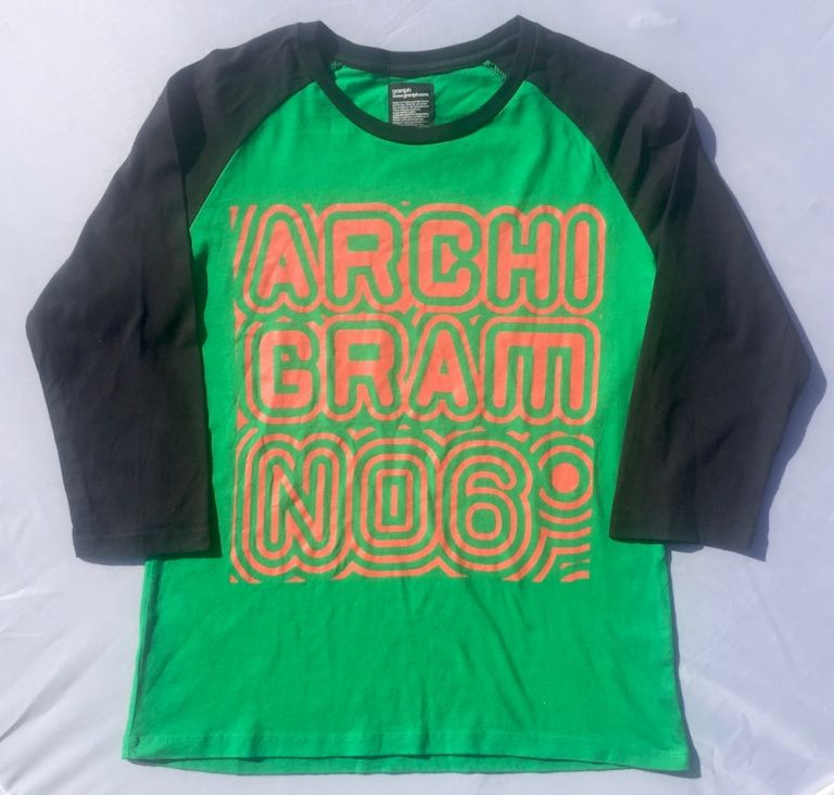 Archigram Issue 6 T-Shirt. PETER COOK.