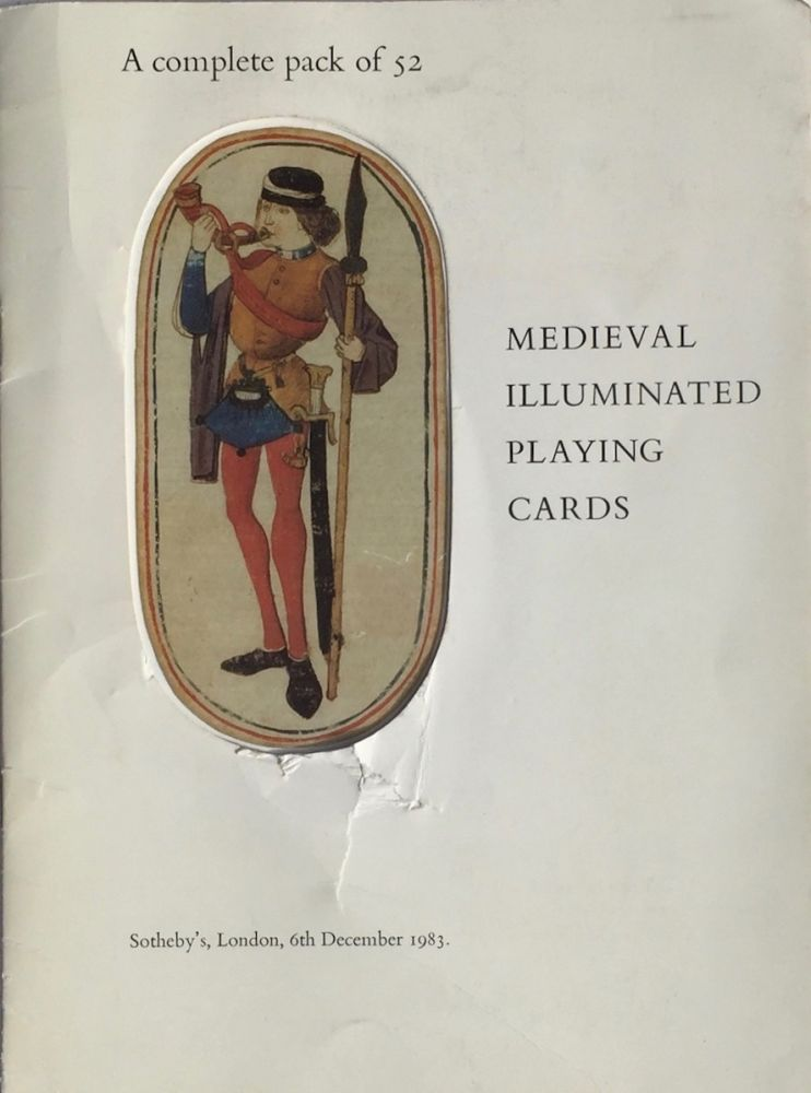 A Complete Pack of 52 Medieval Illuminated Playing Cards. SOTHEBY'S.