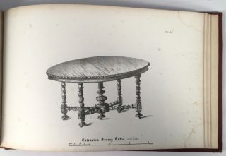 Cabinet Maker's Album of Furniture; Comprising a Collection of Designs for the Newest and Most Elegant Styles of Furniture