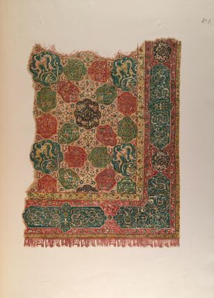 Eastern Carpets: Twelve Early Examples with Descriptive Notes By Vincent Robinson and a Preface By Sir George Birdwood First and Second Series
