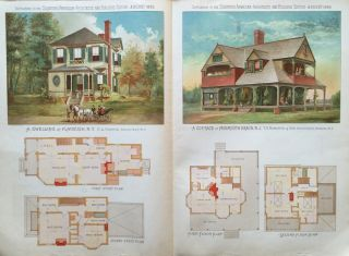 Scientific American Architects and Builders Edition: August 1886