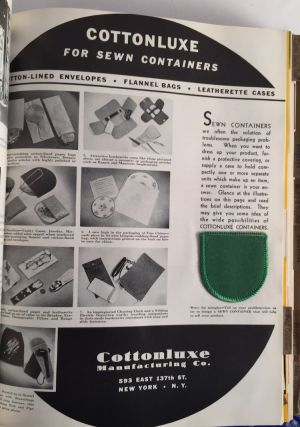 Packaging Catalog 1941: Material, Equipment and Procedures Used in Package Design, Production and Merchandising / Buyer's Directory of the Packaging Industries / Alphabetical Index of Manufacturers and Addresses / Trade Name Directory