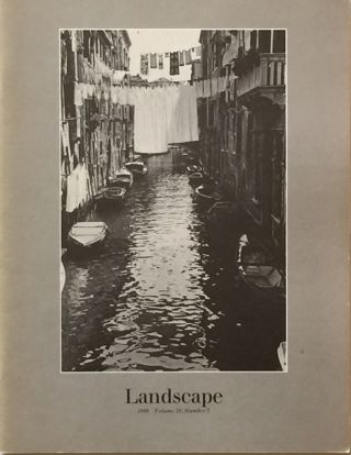 Landscape Vol. 24 No. 2 1980. BLAIR M. BOYD