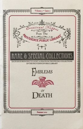 Emblems of Death: Funeral Invitations from the Barrois Ephemera in the Updike Collection on the...