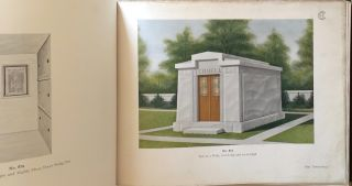 Exterior and Interior Views of Mausoleums: Also, an Addenda Illustrating Some of the Orders of Architecture and a Brief Glossary of Architectural Terms