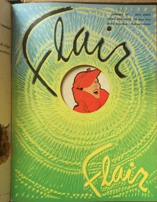 Flair Complete Run 12 Issues Feb. 1950 to Jan. 1951