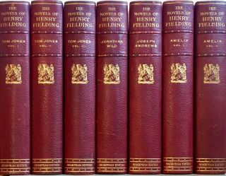The Novels of Henry Fielding, Esq. Sharpham Edition in 7 Volumes. HENRY FIELDING