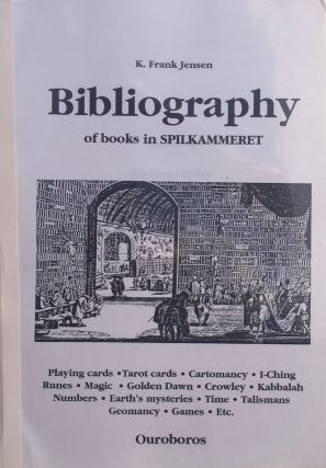 Bibliography of Books in SPILKAMMERET. K. FRANK JENSEN